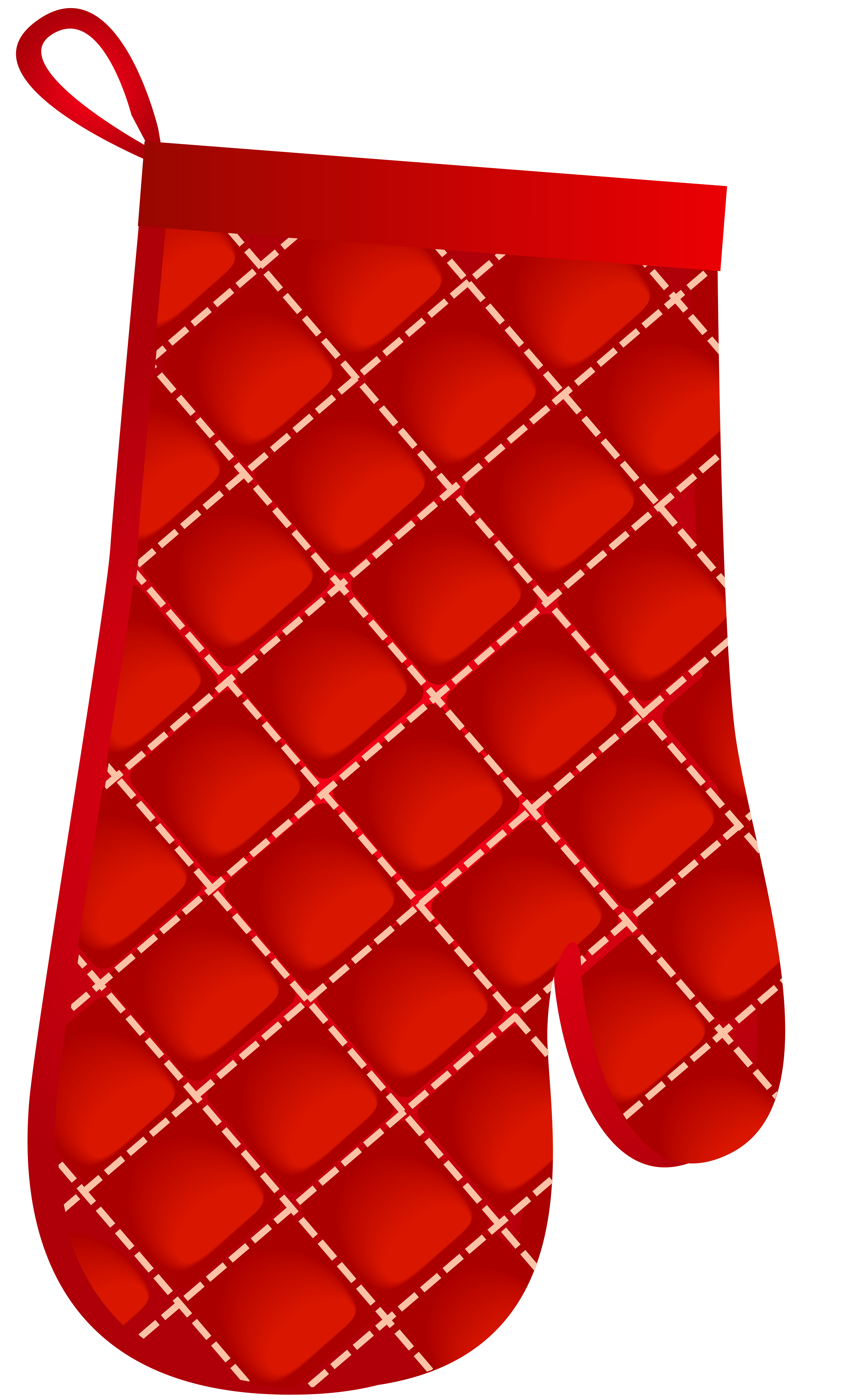 Oven Glove PNG Clip Art.