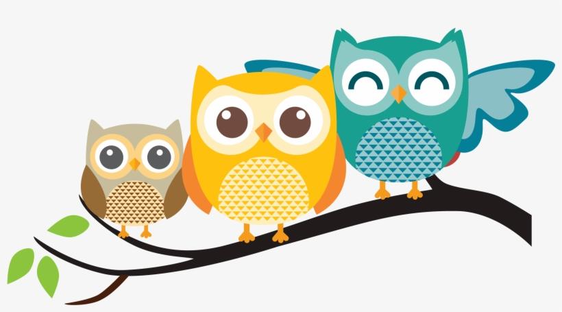 Pastel Clipart Owls.