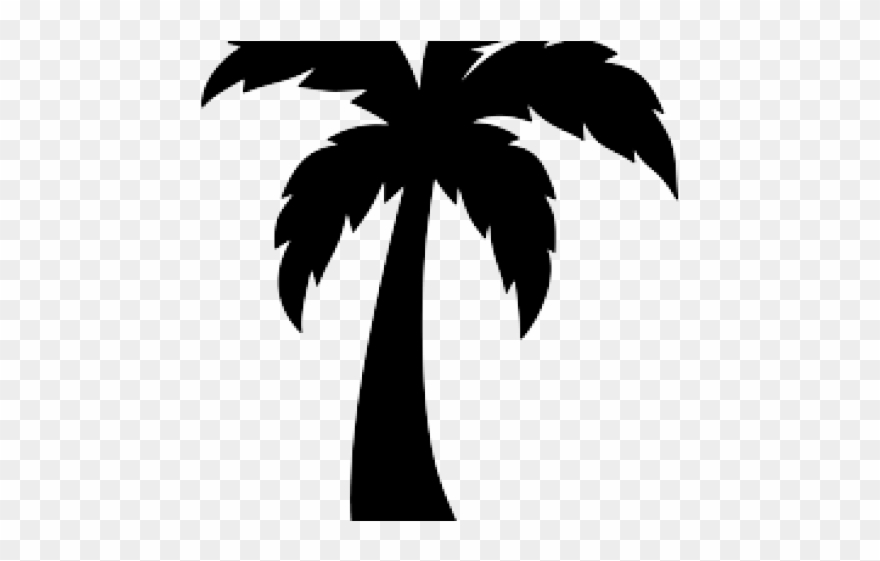 Skyline Clipart Palm Tree.