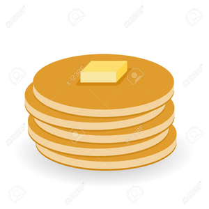 Pancake And Syrup Clipart.