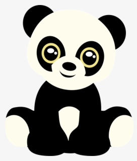 Free Cute Panda Clip Art with No Background.