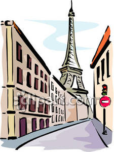 Clipart Of Paris.