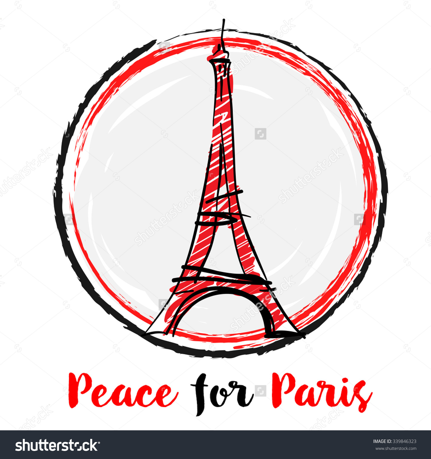 Clipart of paris attack.