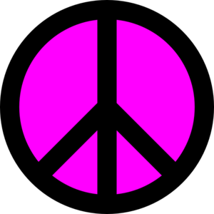 Clipart peace sign clipartmonk free clip art images.