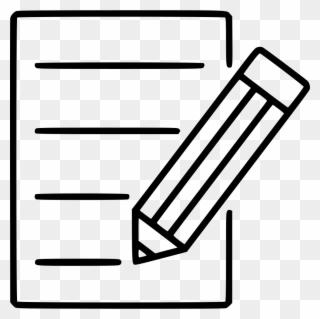 Free PNG Pen Paper Clip Art Download.