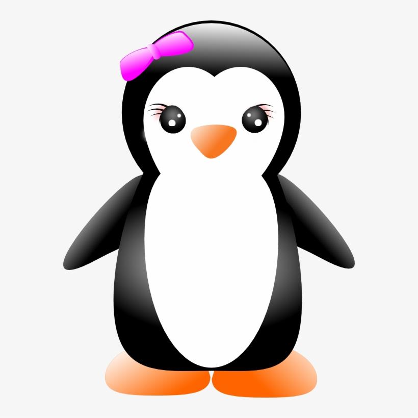 Girl Clipart Penguins.