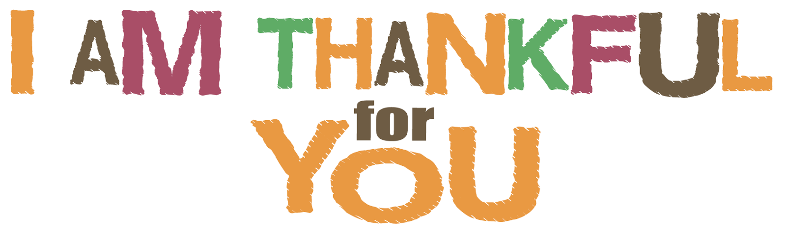 Clipart Of People Being Thankful.