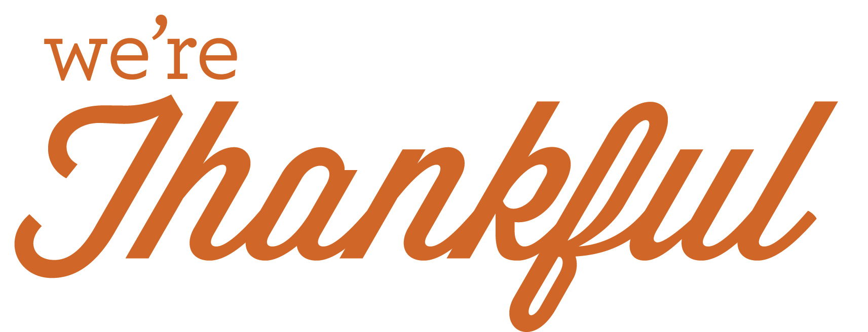 Thankful people clipart.