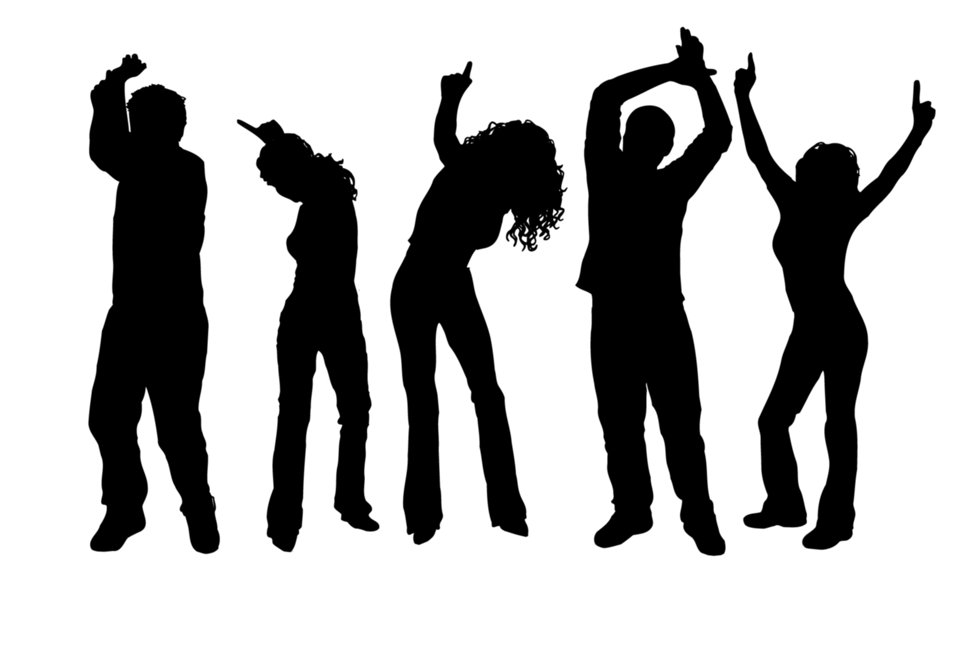 clipart of people dancing - Clipground
