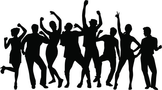 Clipart Of People Dancing