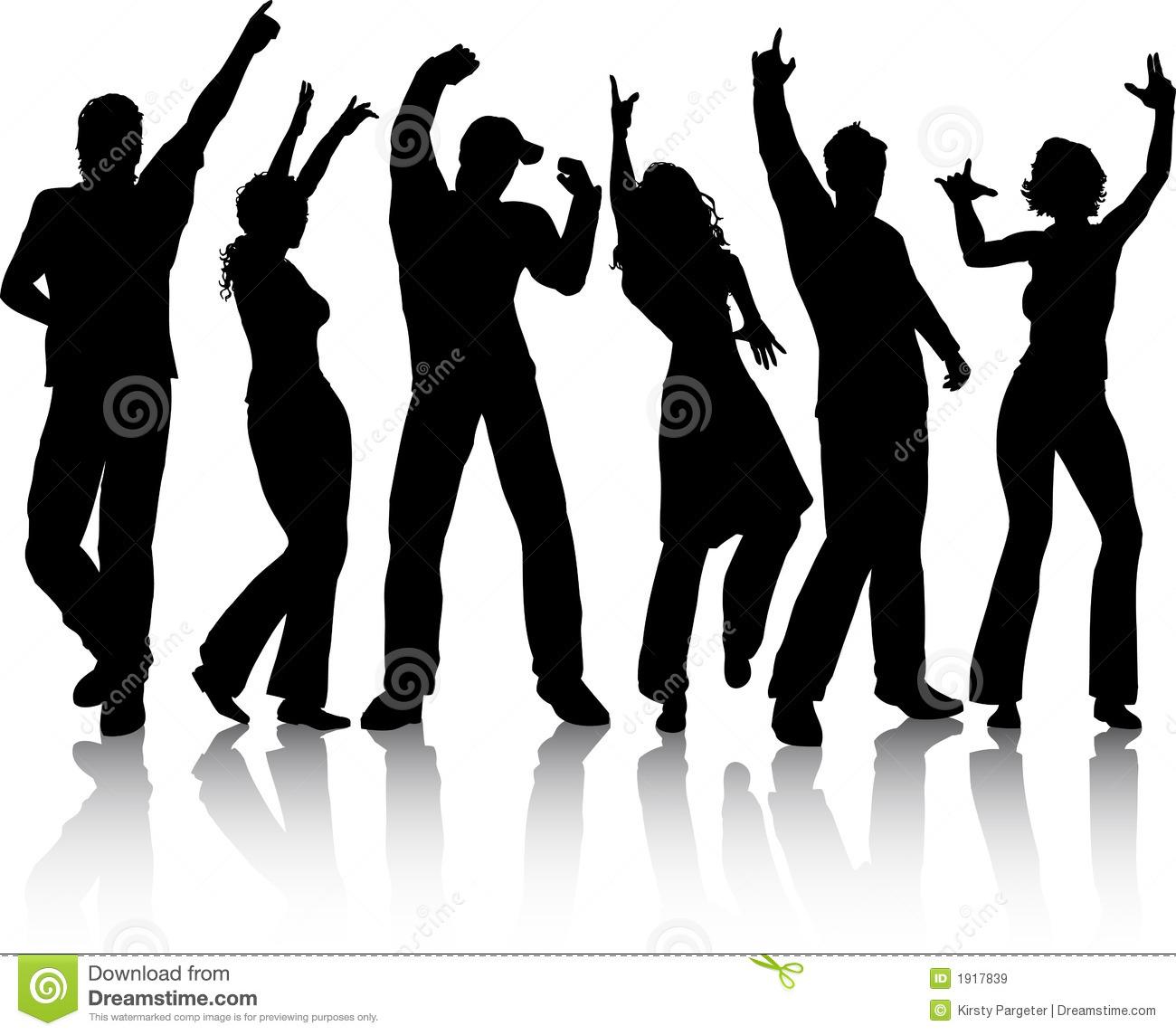 Dancing Stock Illustrations.