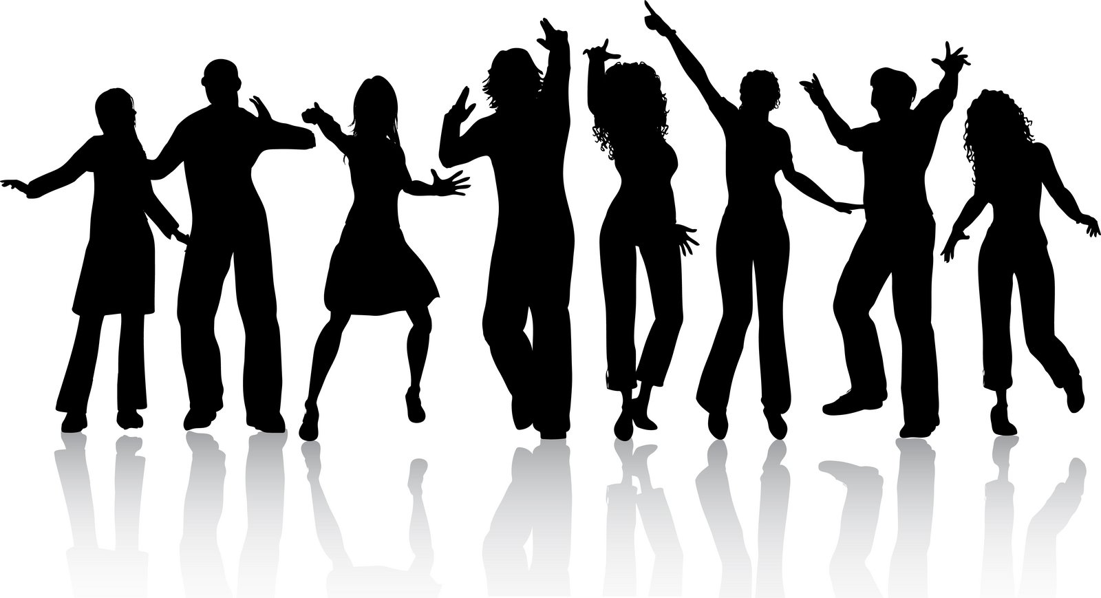 People Dancing Clip Art.