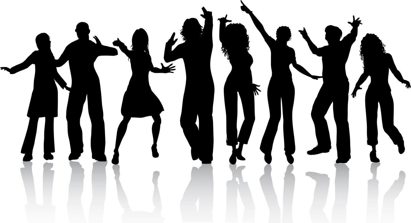 People Dancing Clip Art.