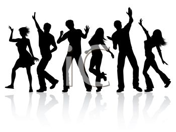 clipart of people dancing #6