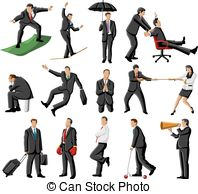 People Doing Things Clipart.