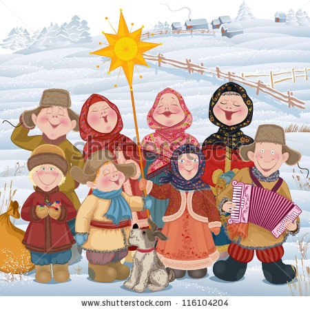 Russian Christmas Stock Images, Royalty.