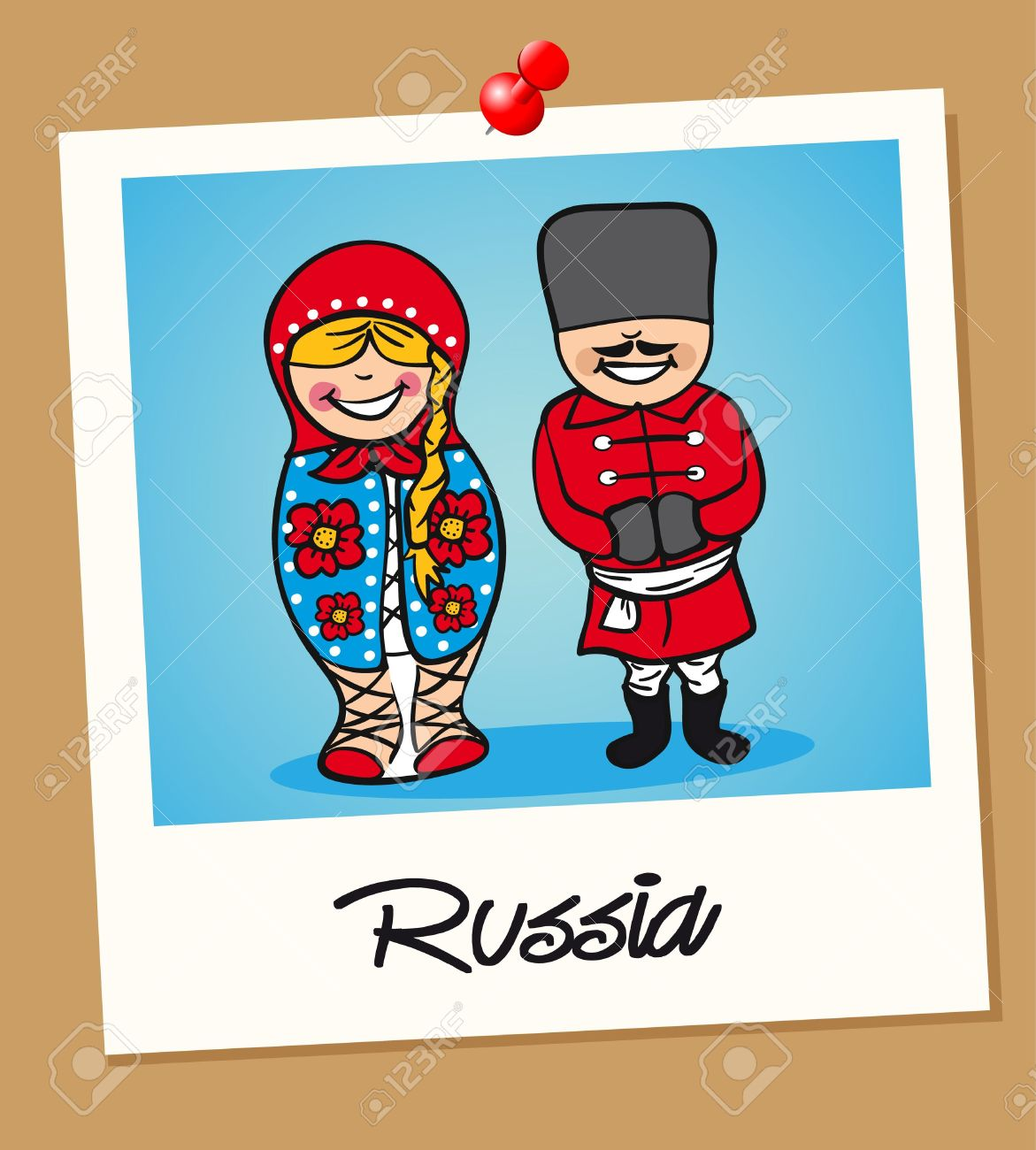 Clipart Of People In Russia.