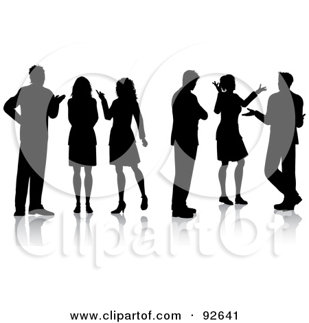 People Gathering Clipart#1899980.