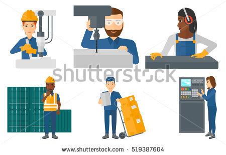 Dock Worker Stock Vectors, Images & Vector Art.