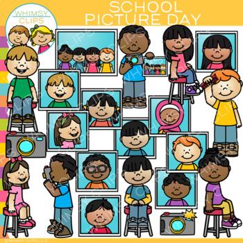 School Picture Day Clip Art {School Photographs Clip Art}.