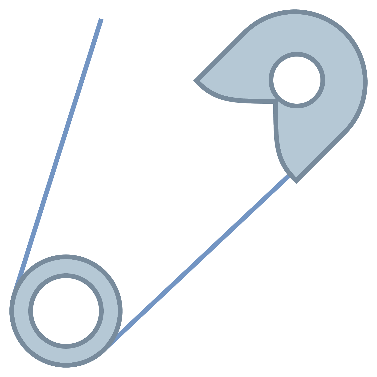 Download Safety Pin PNG Image for Free.