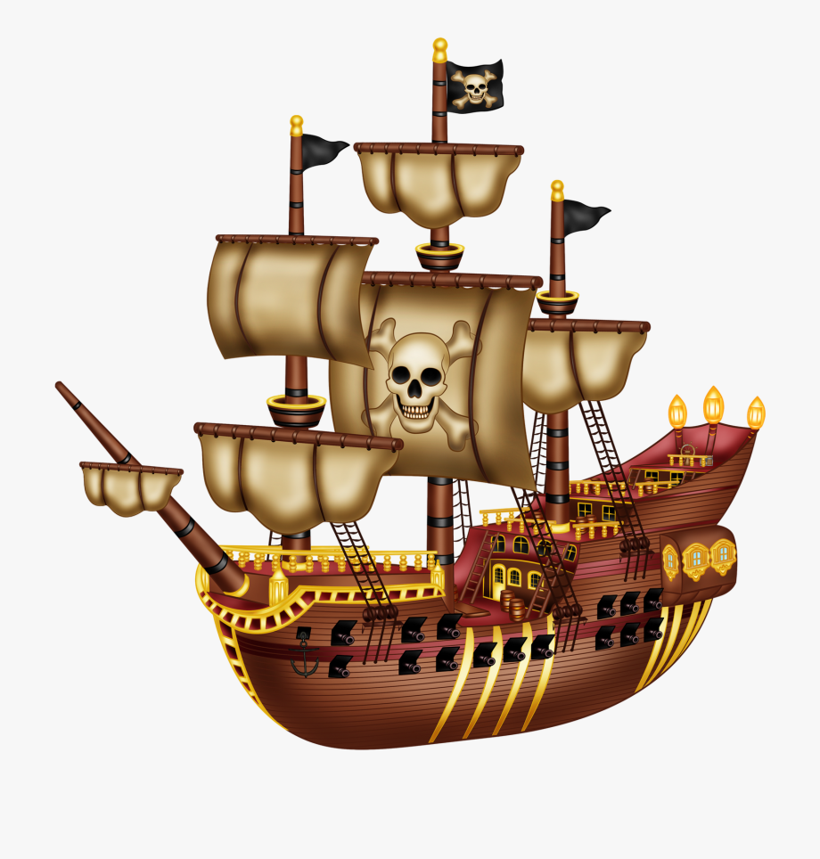Planks Clipart Pirate Ship.