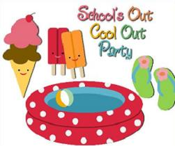 Free Pool Party Clipart.