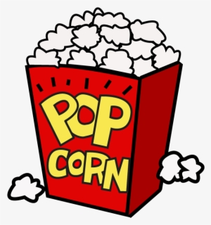 Free Popcorn Png Clip Art with No Background.