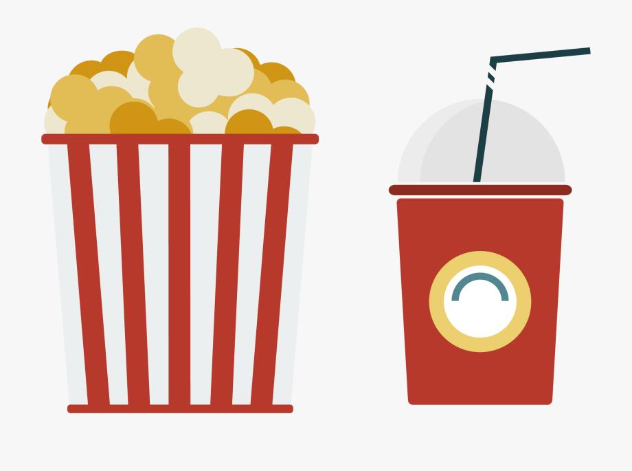 Juice Clipart Popcorn.