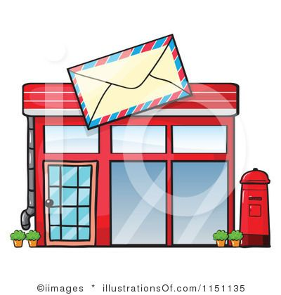 clipart post office #0.