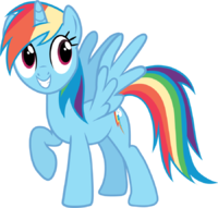 17 Best images about Rainbow Dash on Pinterest.