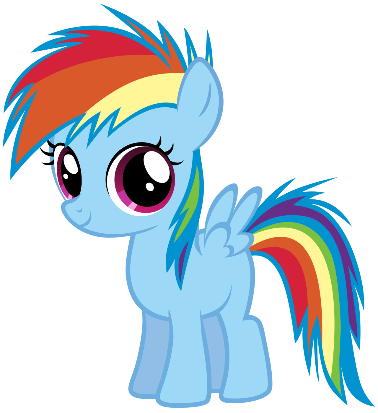 My Little Pony: Friendship is Magic: All About: Rainbow Dash.
