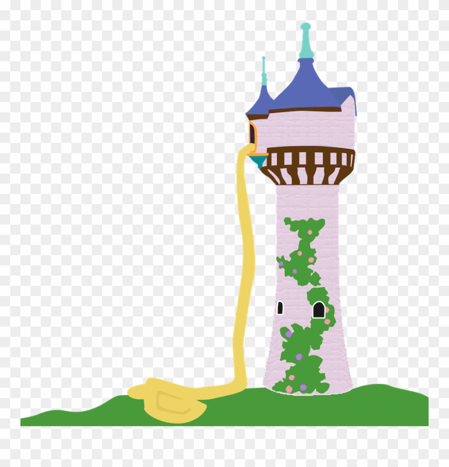 Rapunzel Tower Disney Princess Tangled Clip Art.