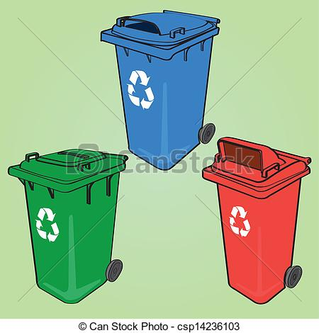 Recycle Can Clip Art.