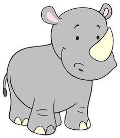 Baby Rhino Clipart Baby Nursery Jungle Pinterest Baby Rhino.
