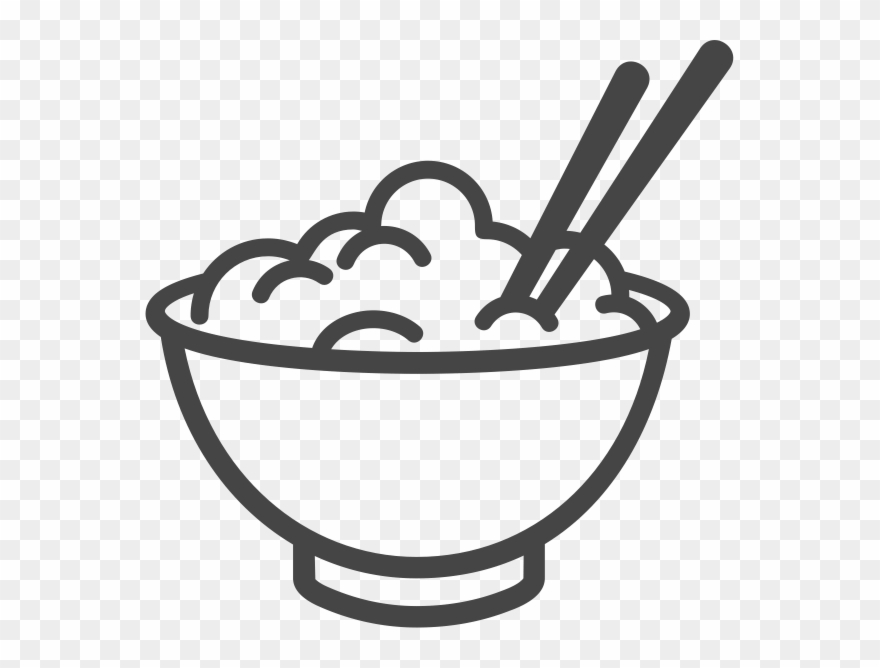 Bowl Of Rice Icon Clipart (#1496706).