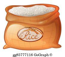 Rice Clip Art.