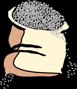Bag Of Rice PNG, SVG Clip art for Web.