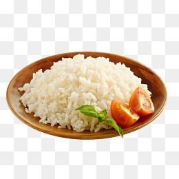A Dish Of White Rice, Rice Clipart, Steamed Rice, Grains Cooked Rice.