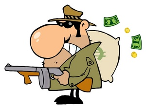 Robber clipart 1 » Clipart Station.