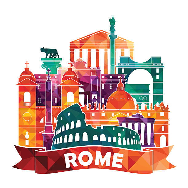 Best Rome Italy Illustrations, Royalty.