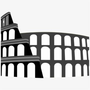 Empire Clipart Rome Landmark.