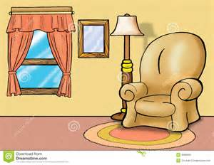 Living Room Background Clip Art.