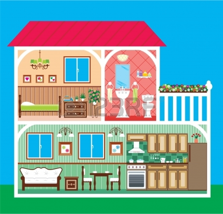 inside a house clipart aOOwUEwh.