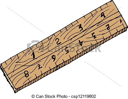 Inch Ruler Clipart.