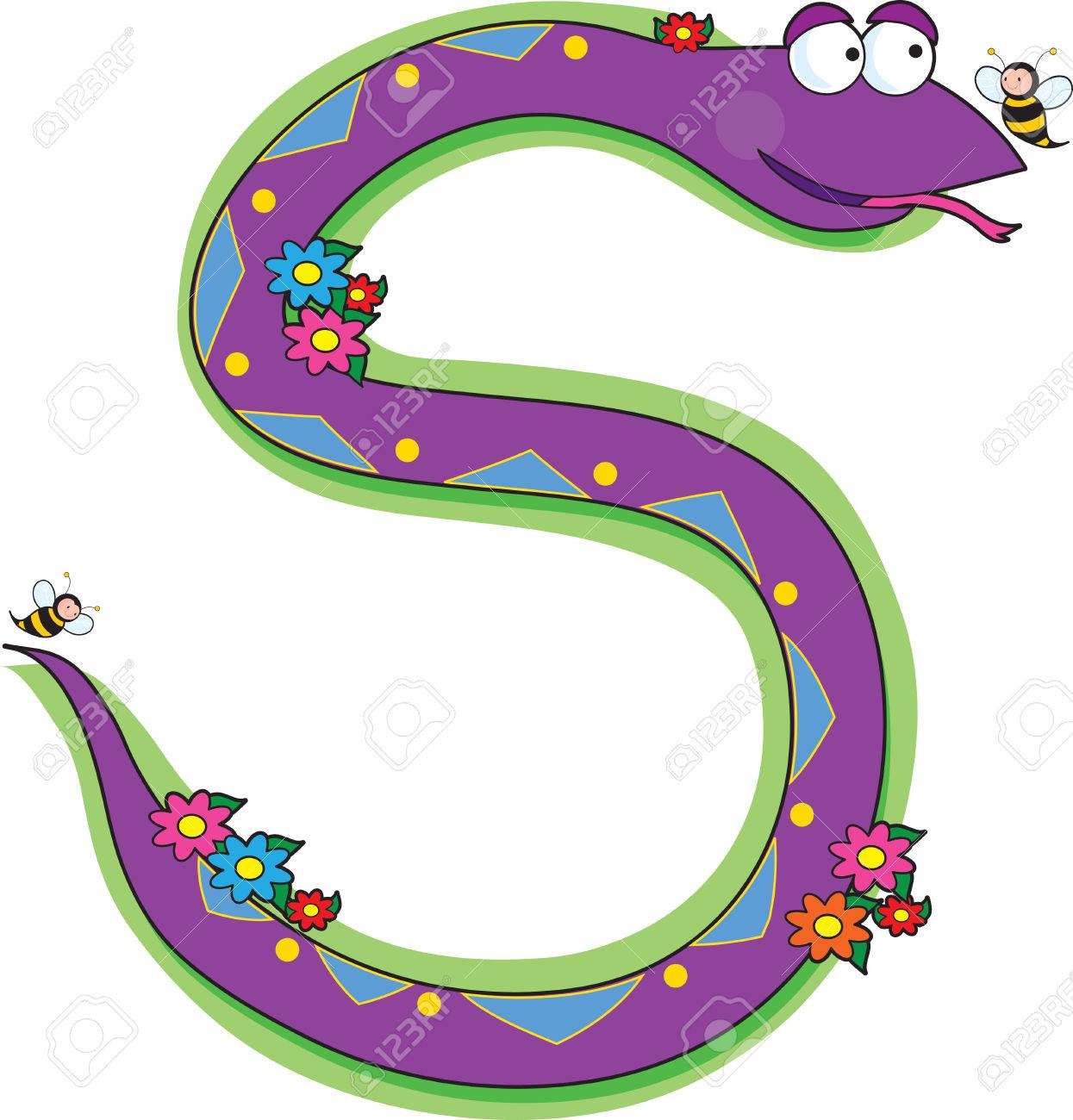 Snake Clipart S Shape & Free Clip Art Images #3612.