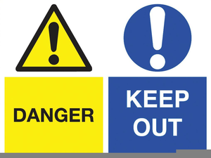 Health Safety Signs Clipart.