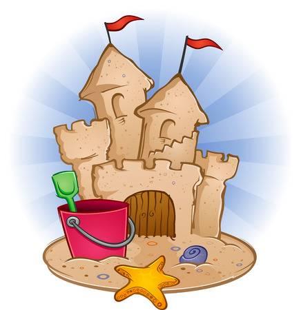 Sand castles clipart 1 » Clipart Station.