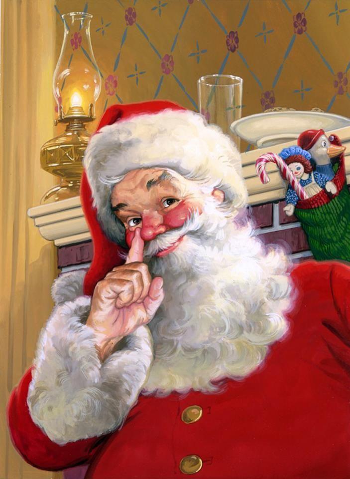17 Best images about Santa on Pinterest.