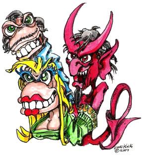 Free Satan Clip Art.